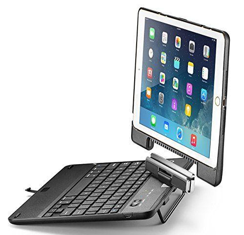 New Trent Nt55b Airbender Star Ipad Air Keyboard Case With Detachable Rotatable Wireless Bluetooth Smar Ipad Keyboard Ipad Keyboard Case Ipad Air Keyboard Case