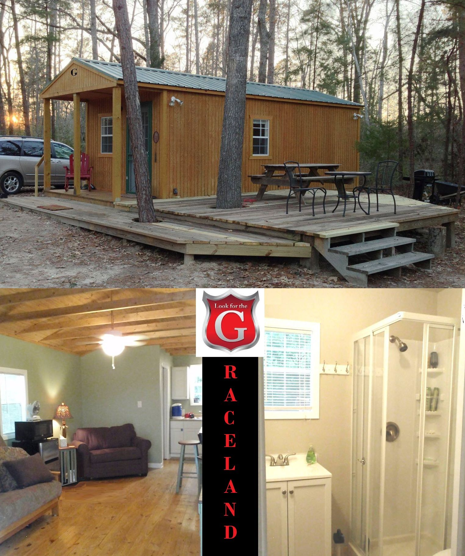 Customer Turns Graceland Cabin Into Tiny Home Shed Cabin Portable Buildings Shed Homes
