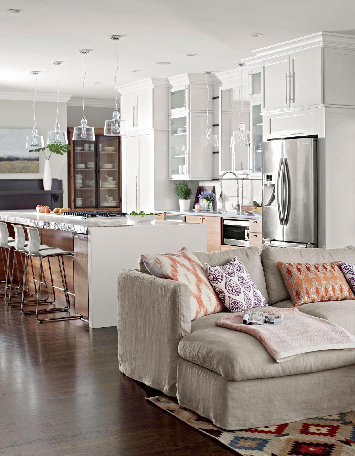 15 Distinctive Ideas For Living Rooms With Open Floor Plans Living Room Furniture Arrangement Living Room Floor Plans Open Kitchen And Living Room