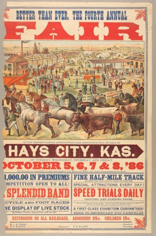Hays City fair, 1886