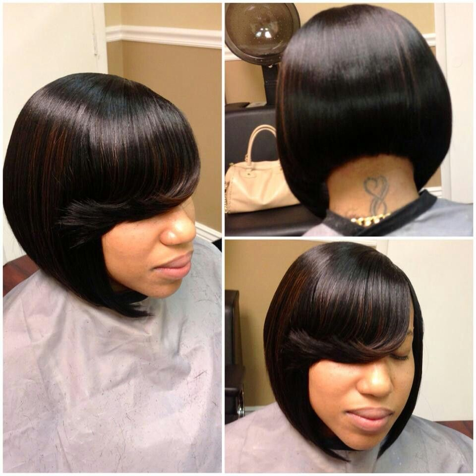 Love it hair pinterest bobs hair style and black hair