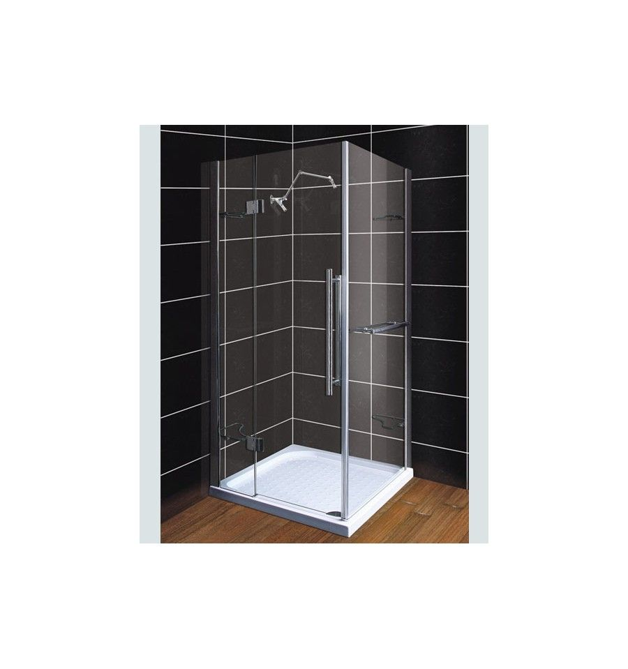 cabine de douche terez 105 93 190 cm cabine de douche design mobilier salle de bain salle. Black Bedroom Furniture Sets. Home Design Ideas