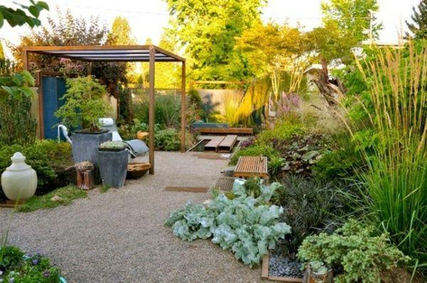 AuBergewohnlich Mediterrane Gartengestaltung   45 Gartenideen Und Gartenm Bel