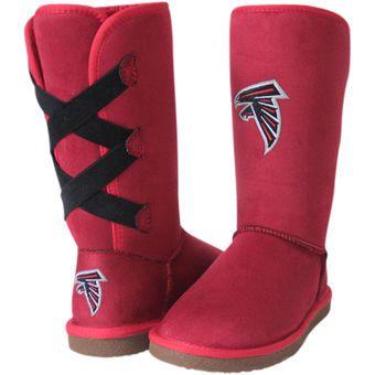 the latest 10750 814b7 Women's Atlanta Falcons Cuce Conqueror Boots … | MY ATLANTA ...