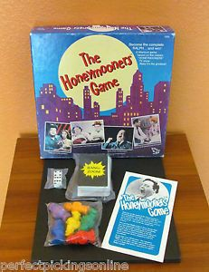 Details About Collectible 1986 The Honeymooners Board Game