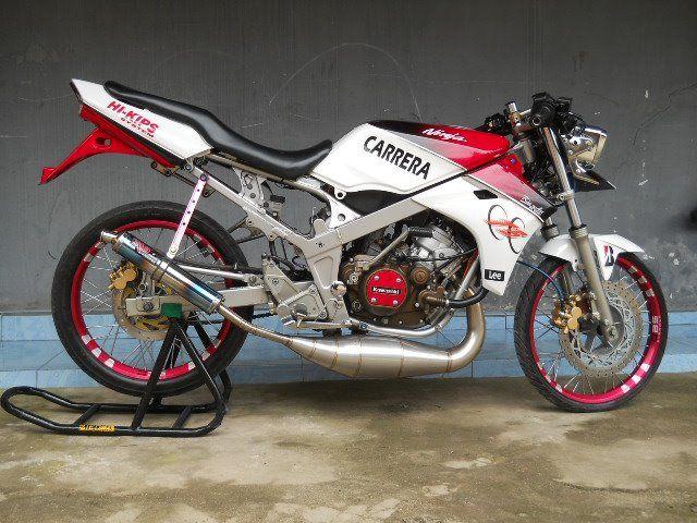 modifikasi motor ninja 150 terkeren