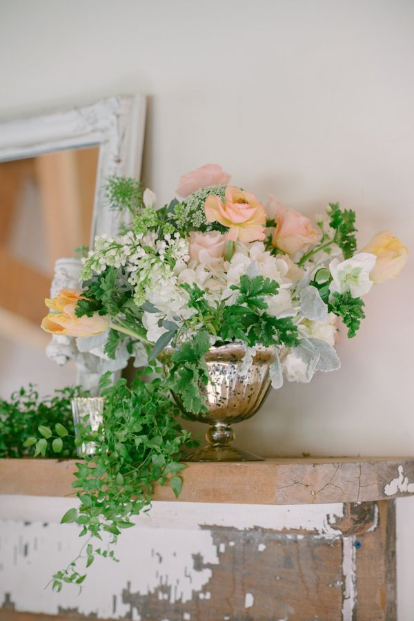 Lovely Peach and Cream Wedding Inspiration Photo Shoot with Floral Design by Peony and Plum