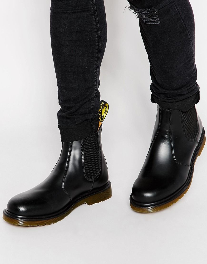f609e39d400d3 Dr Martens 2976 chelsea boots in all black in 2019 | Boots | Boots ...
