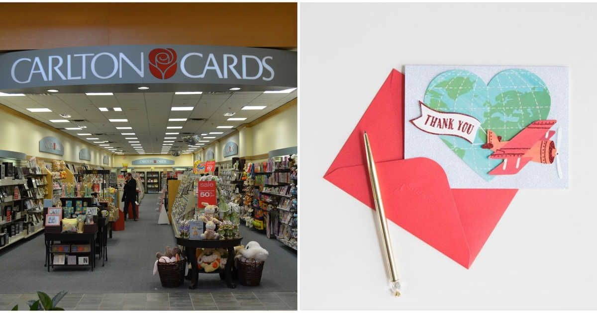 Carlton Cards And Papyrus Stores Are Closing In Canada