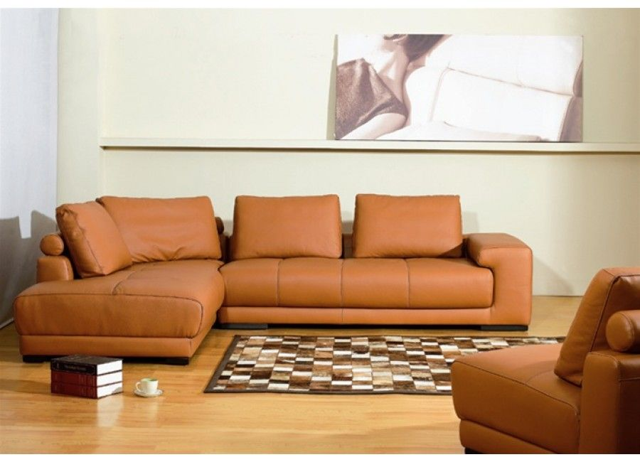 Fantastic Copper Leather Sectional Sofa For The Home Sofa Sofa Machost Co Dining Chair Design Ideas Machostcouk