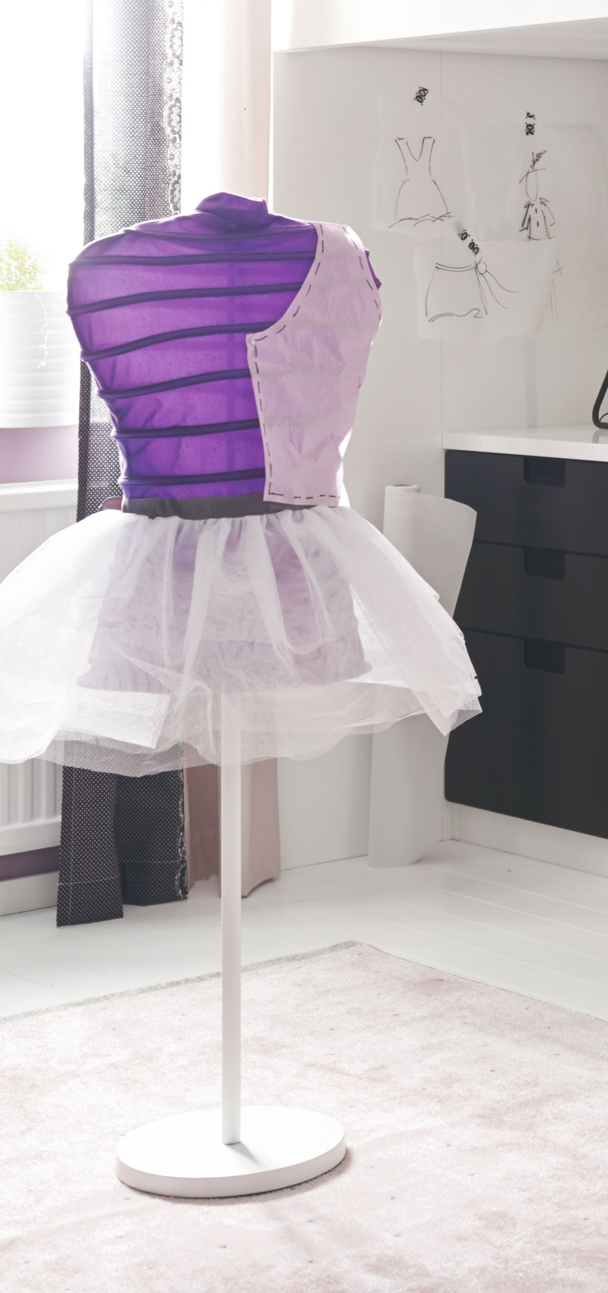 Us Furniture And Home Furnishings Clothes Stand Girl