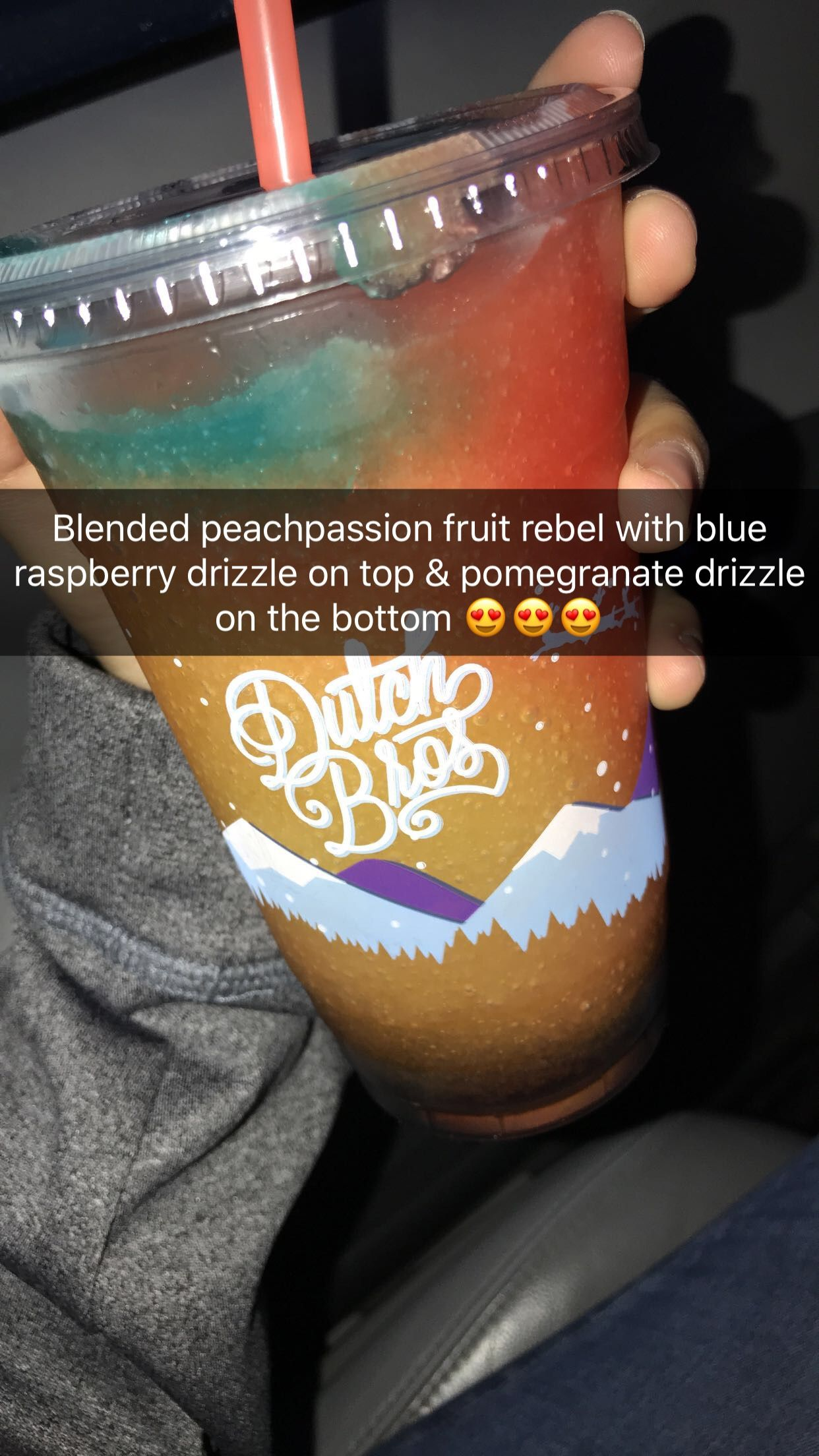 Tasted better than I expected ???? #dutchbros