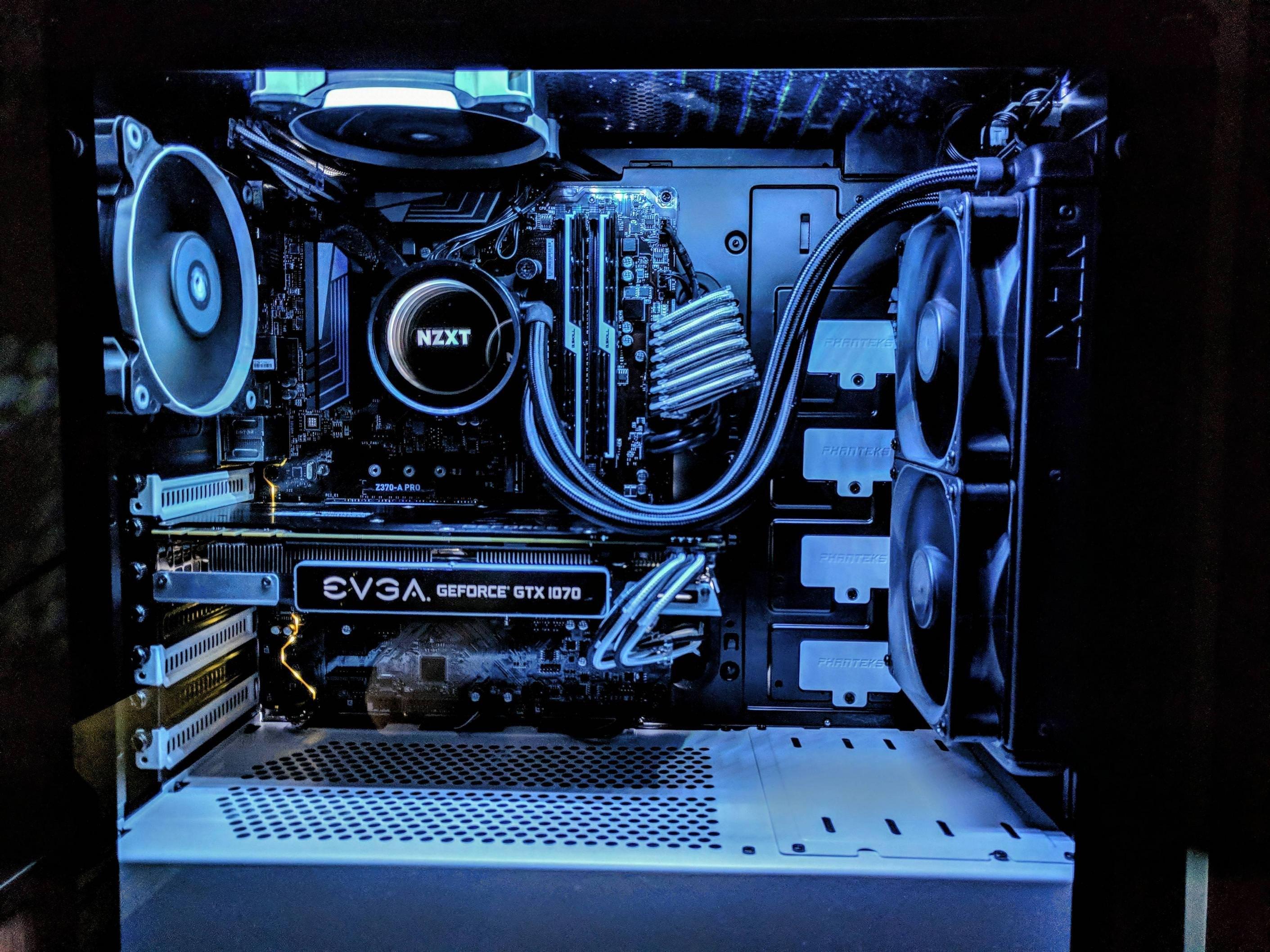 i tried for a black white build i m pretty happy with it so far pc rh pinterest ca
