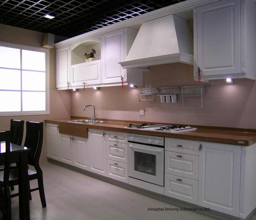 Pvc Vinyl Kitchen Cabinet Lh Pv049 Kitchen Cabinet Pvc