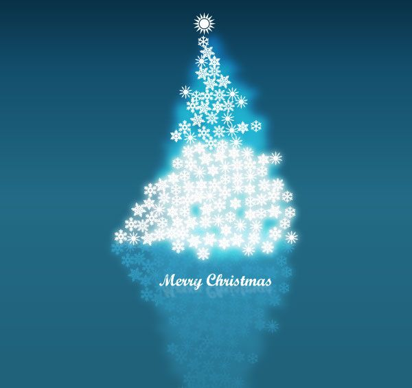 Vector Snowflake In Christmas Tree Background Image Christmas Tree Background Free Christmas Backgrounds Merry Christmas Card Design