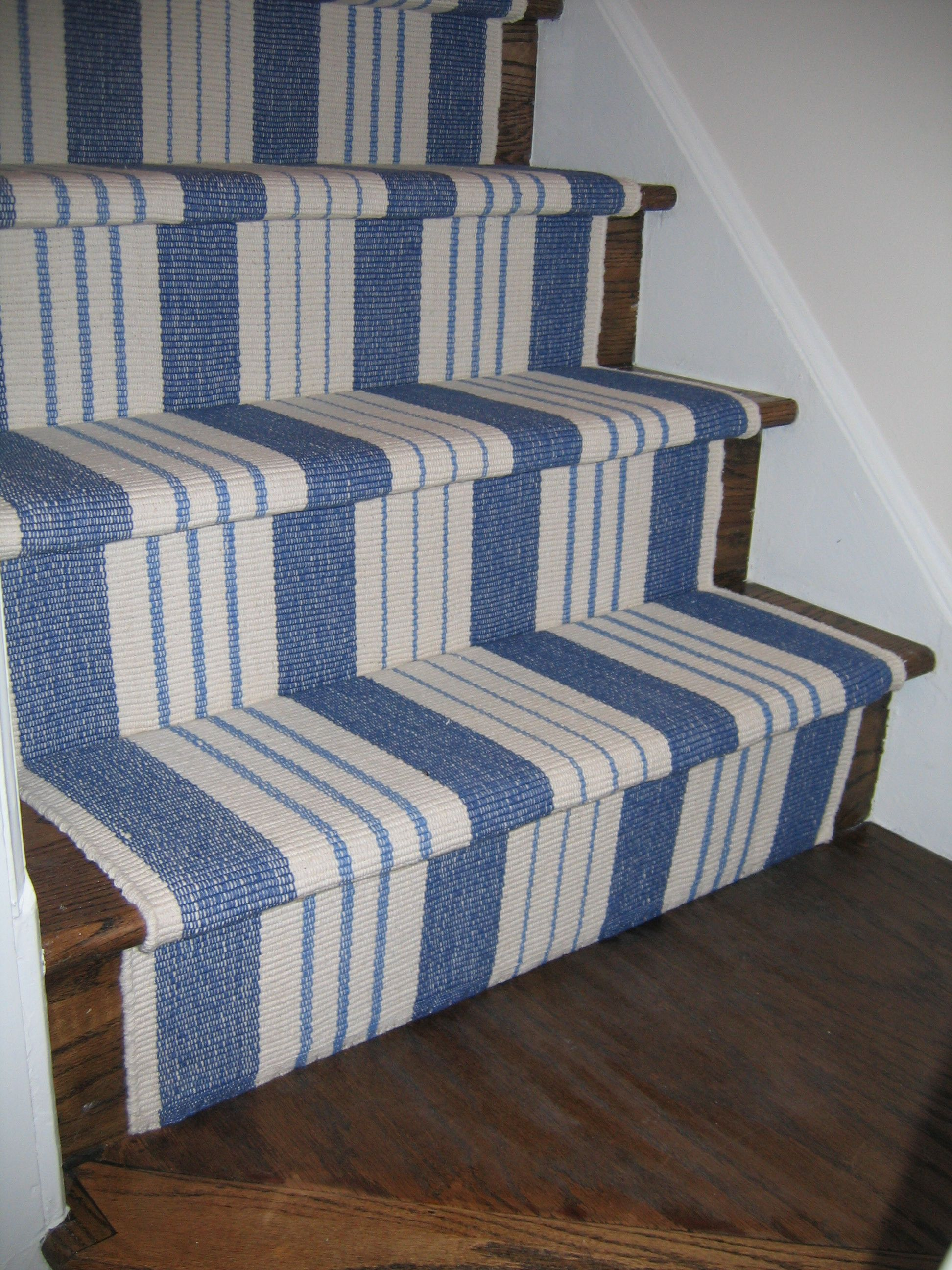Best Blue Striped Stair Runner I D Use The Outdoor Rug 400 x 300