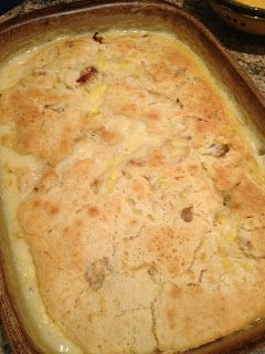Chicken and Dumpling Casserole..I am gonna try this tomorrow night..I am going to add corn,peas and carrots.
