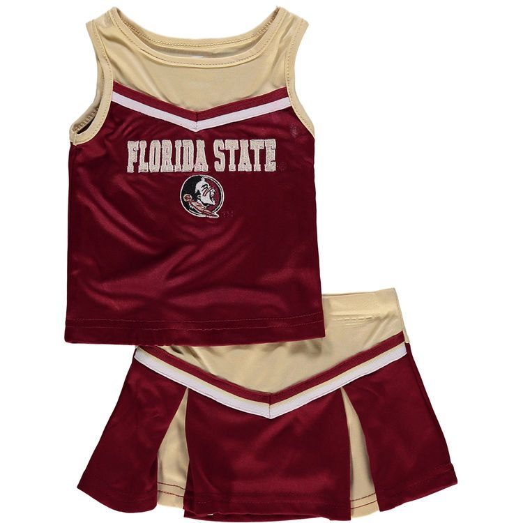 Florida State Seminoles Colosseum Girls Infant Aerial Cheer Set - Garnet