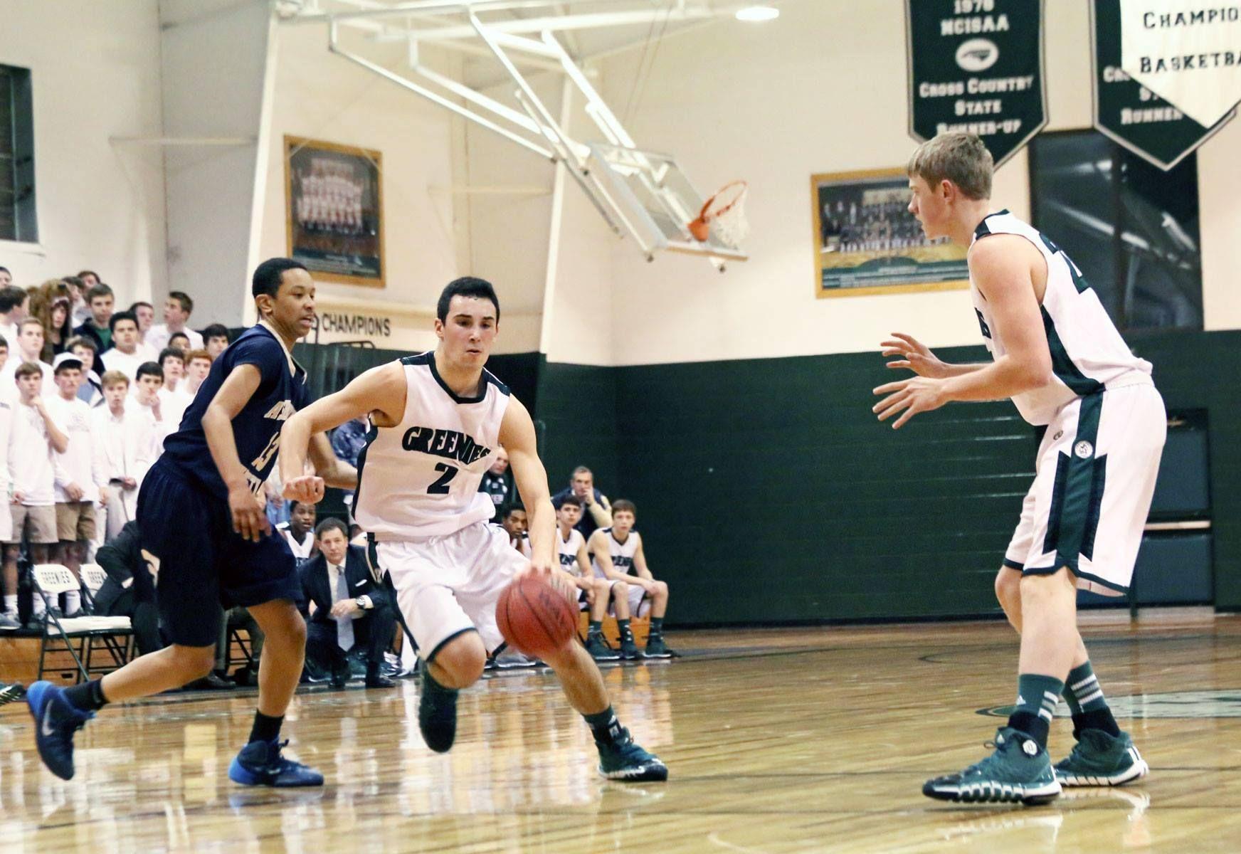 Christ schools jv and varsity basketball teams host