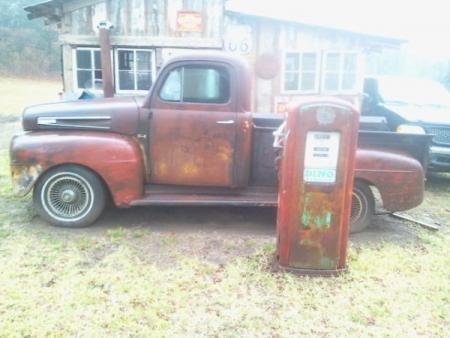 Old Truck Could Be Rat Rod 2500 Jacksonville Tx Motorscroll