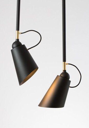 PENDANT LIGHTING #black #modern