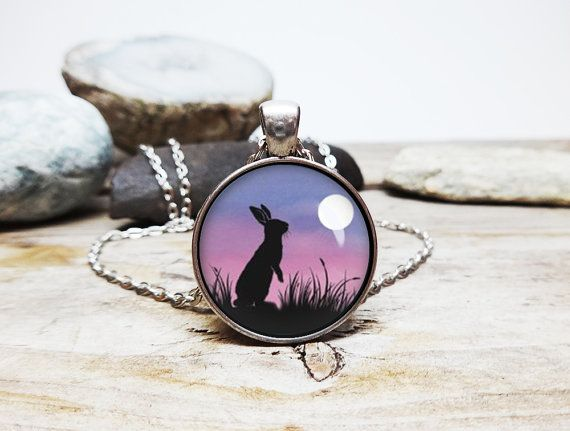 Watership down necklace bunny necklace bunny by yogablissjewelry coexist necklace coexist pendant necklace by yogablissjewelry aloadofball Gallery