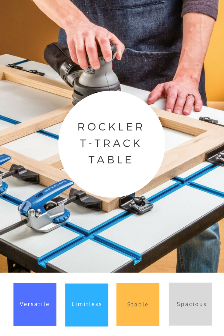 Considering The Wide Variety Of T Track Accessories Available, The Utility  Of The Rockler
