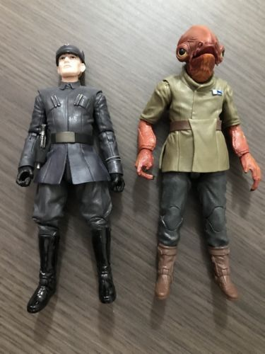"""STAR WARS THE BLACK SERIES ADMIRAL ACKBAR TOYS R US EXCLUSIVE 6/"""" SCALE LOOSE"""