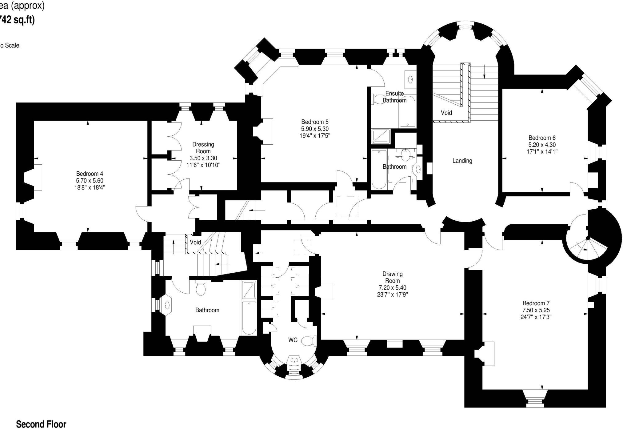 Tower Of Lethendy Floor Plan 3 Castle Floor Plan Floor Plans Property For Sale