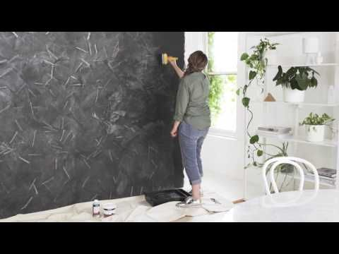 How To Make A Concrete Look On Your Wall Coloured Filler Youtube Wall Painting Techniques Concrete Walls Diy Faux Concrete Wall
