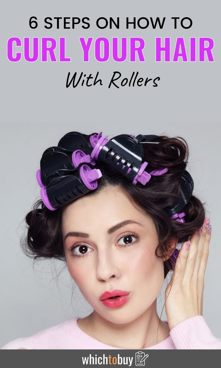 How to curl your hair with rollers in 6 easy steps