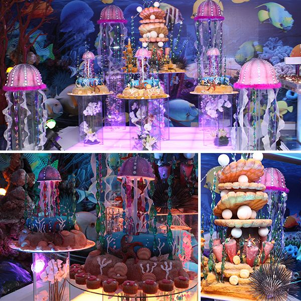 Pastel De Fantasia Marina Under The Sea Party Pinterest Baby