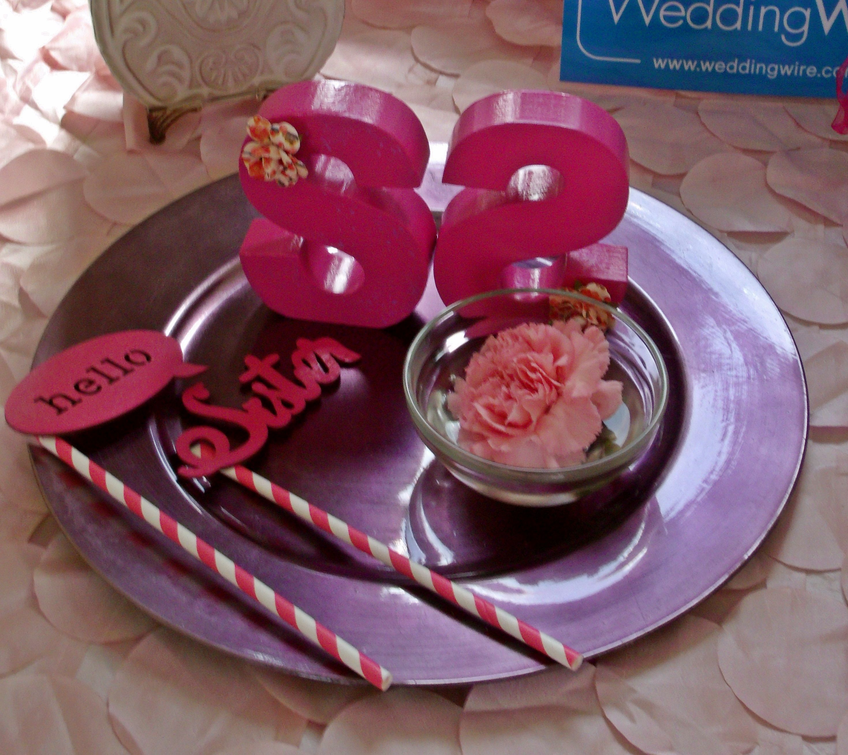 DIY Props Found a few cute $1.00 items at Michaels Craft Store and ...