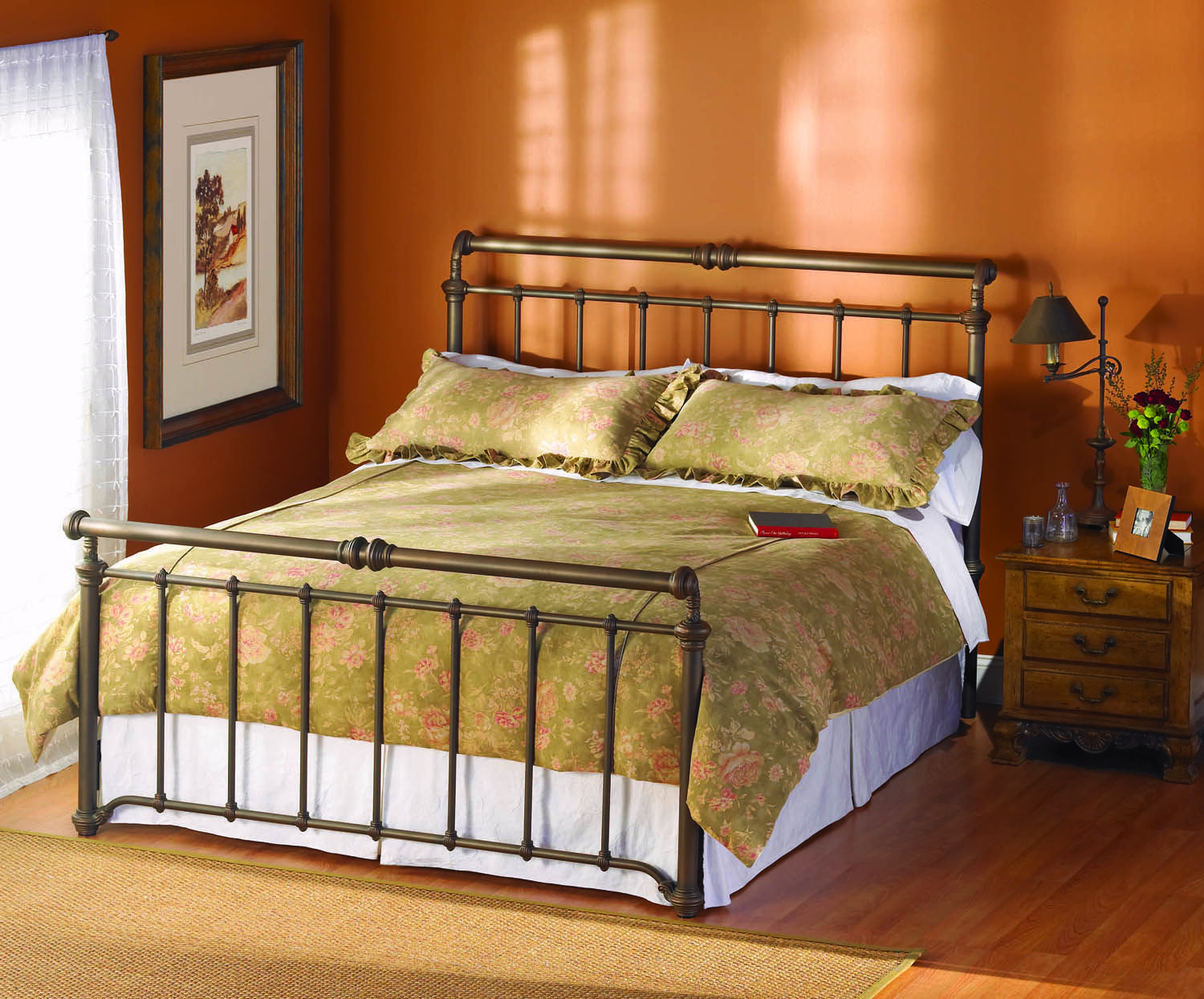 Full Sheffield Complete Bed Wesley Allen Home Gallery