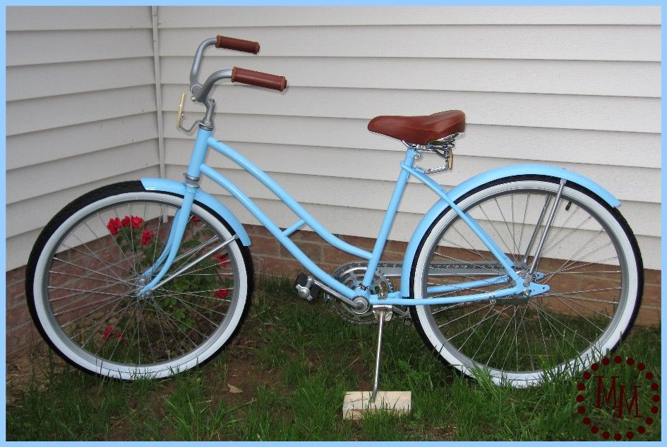 The Scrap Shoppe Vintage Bicycle Makeover Bicycle Makeover Vintage Bicycles Bicycle