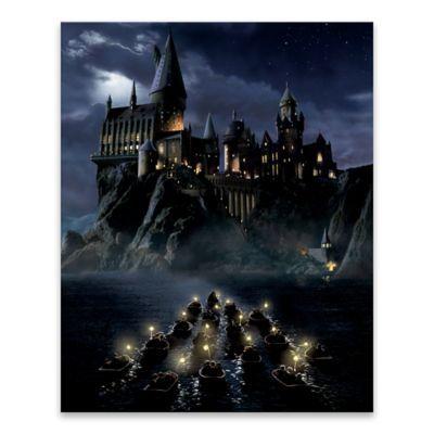 Harry Potter™ First Night Sail Canvas Wall Art | Hogwarts ...