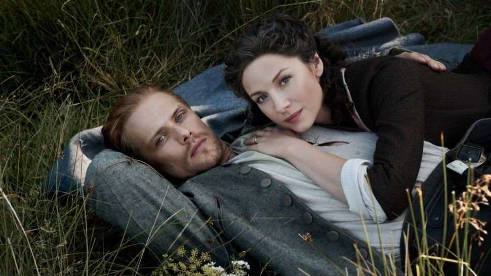 Outlander Stars On How Claire And Jamie S Love Deepens In Season 5 In 2020 Outlander Sam Heughan Outlander Tv