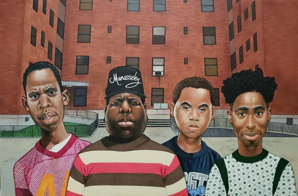 Boyz n da hood (Hiphop legend edition) Afrocentric art