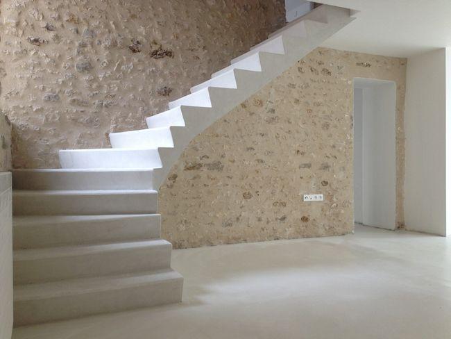 Escalier Beton Cire Avec Images Escalier Beton Cire Escalier