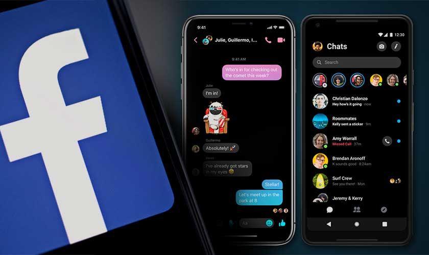 Facebook Is Finally Launching Dark Mode To Mobile App Aplikasi Facebook Pengikut