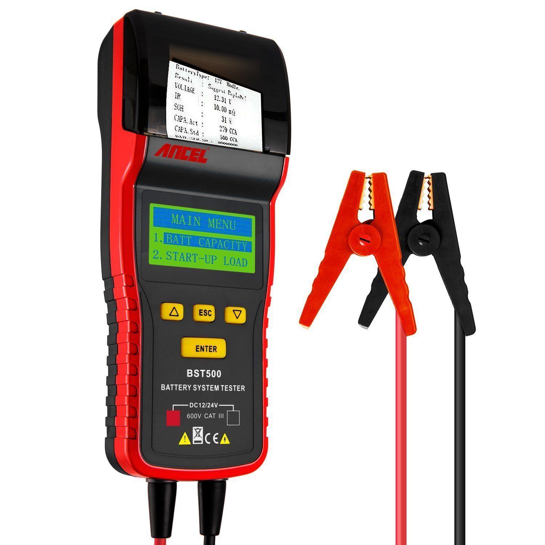 Ancel professional 12 v24 v automotive charge testeur de