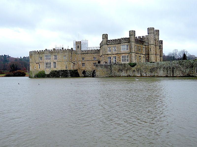 leeds castle, england, 1-14
