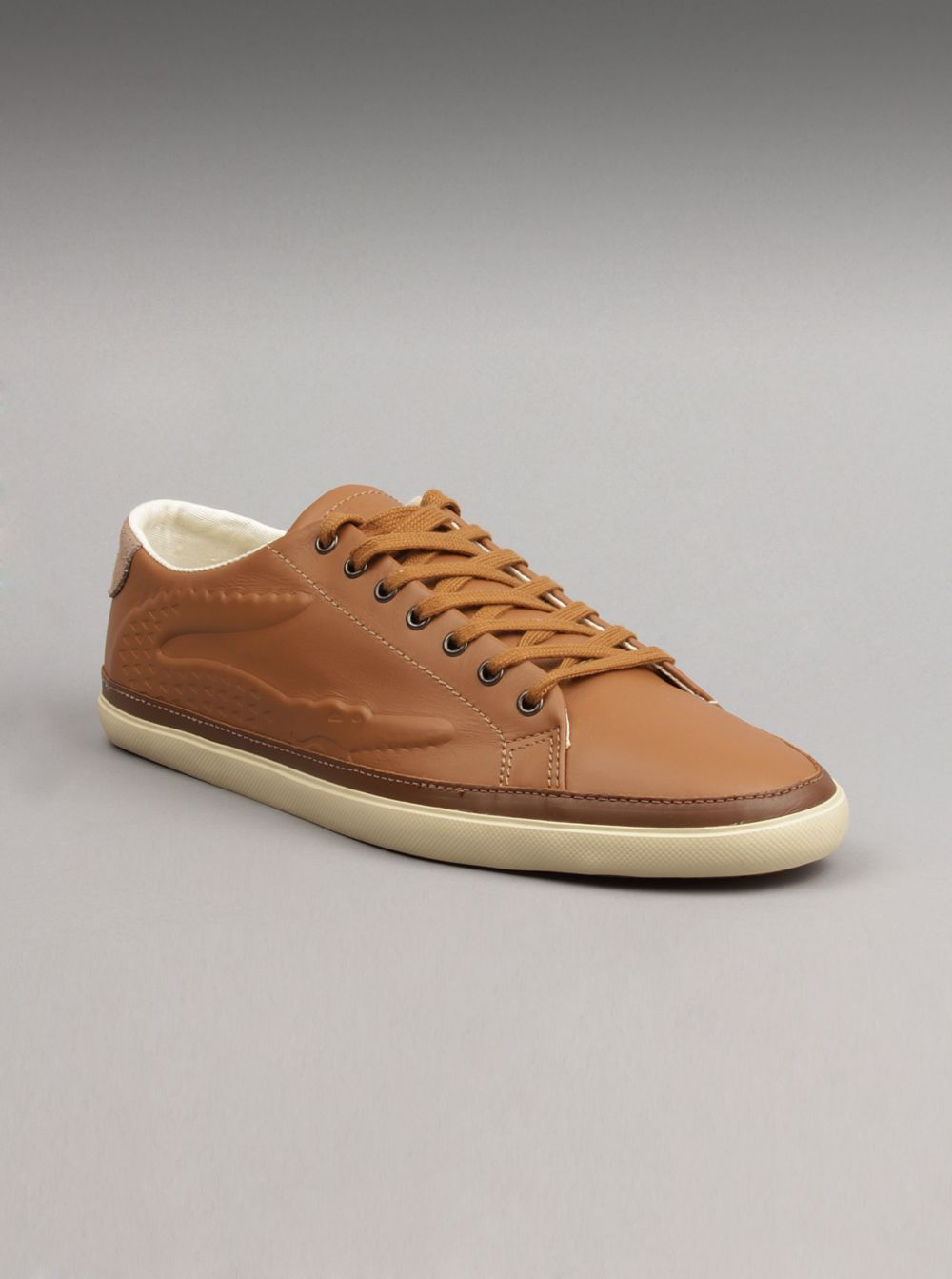 Lacoste Men Bocana 6 Shoes in Tan