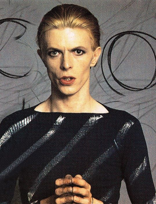 David Bowie. The Thin White Duke.  Ziggy Stardust.