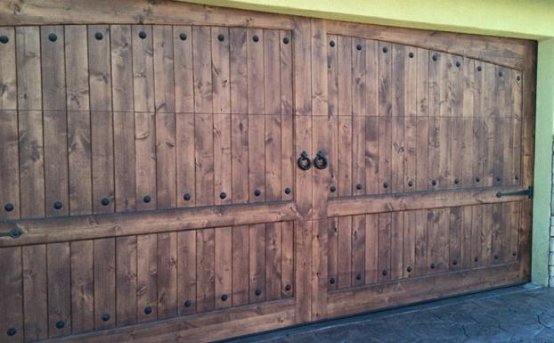 Rustic Garage Door