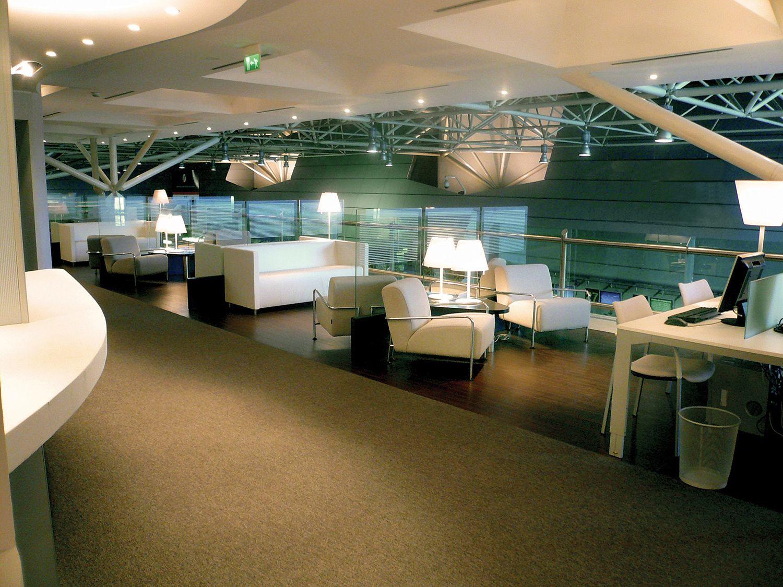 The Wonderful Abc Lounge At Portugal Lisbon International