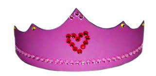 Prinzessinkrone In Drei Varianten Bastelvorlage 1