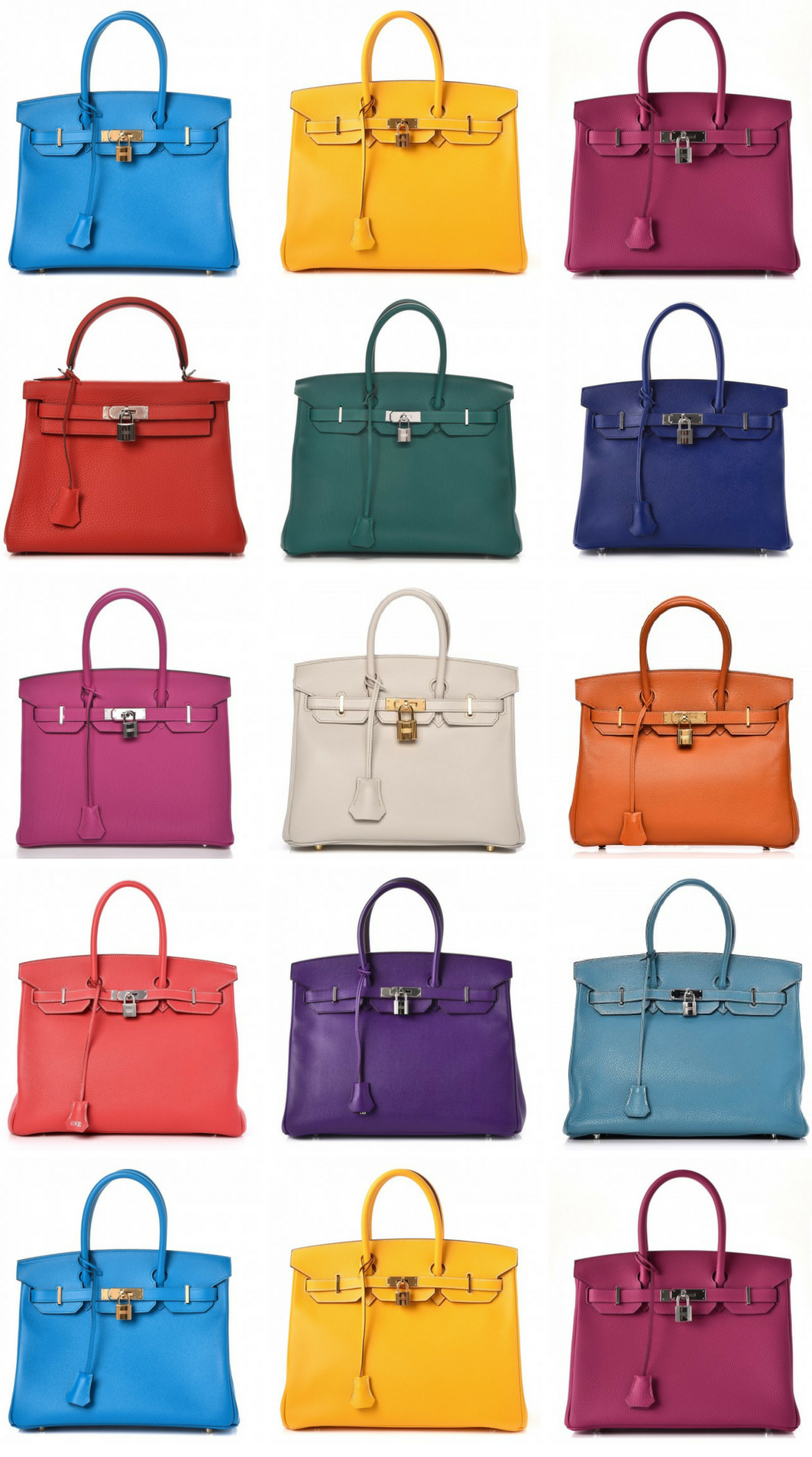 8e2ff8956c73 FOR IMMEDIATE RELEASE  Make Your Hermes Birkin Ownership Dream a Reality – Hermes  Birkin + Kelly Handbags AVAILABLE NOW at  Fashionphile 185 Colour Shades ...