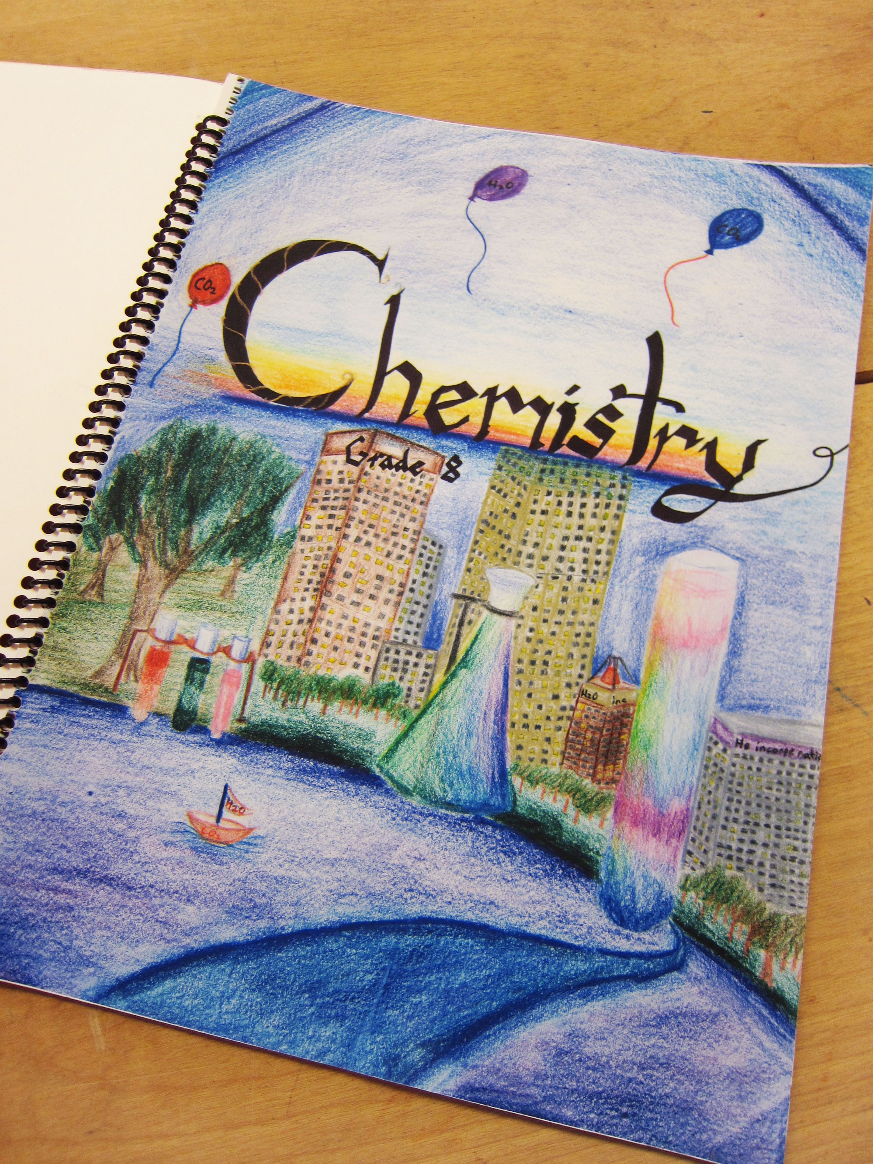 8th Grade Chemistry Lesson Book From City Of Lakes Waldorf