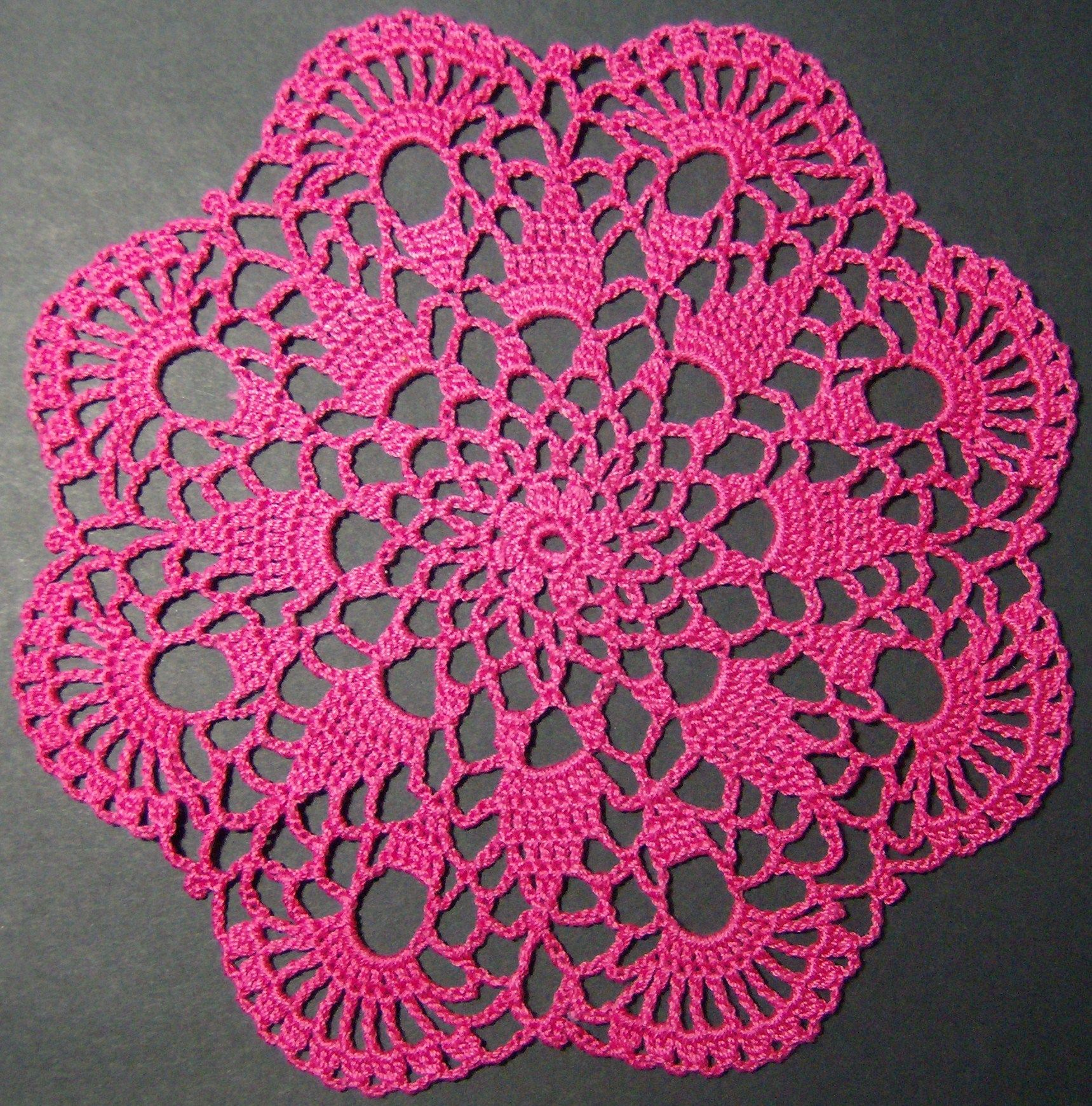 Crochet doily crochet doilies ive made pinterest crochet easy doily patterns for beginners crochet petite spiral pineapple doily pattern bankloansurffo Gallery
